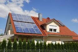 Kolektory słoneczne w domu