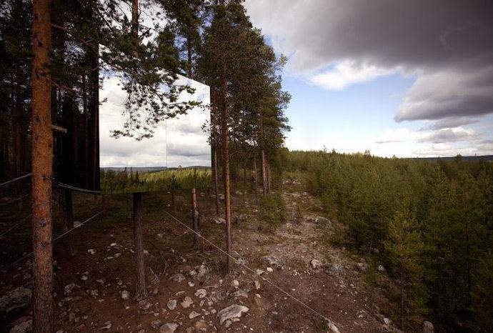 Hotel na drzewach – Treehotel