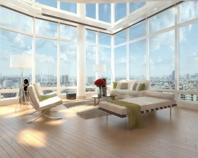 Duże okna