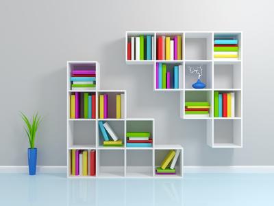 Półki i podpórki na książki